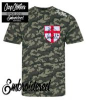 021 EMBROIDERED CAMO T-SHIRT